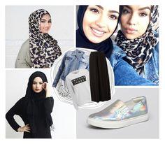 """All | Hijab"" by lunicornn ❤ liked on Polyvore featuring Kenneth Cole, VILA, VidaKush and Zoe Karssen"