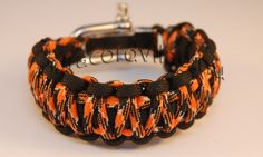 Paracord king kobra karkötő/Fekete-Black camo King Kobra, Paracord, Camo, Bracelets, Black, Jewelry, Camouflage, Jewlery, Black People