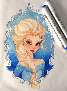 Frozen Fan Art: Elsa