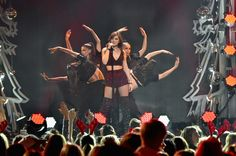 Hailee Steinfeld performs onstage during Z100's Jingle Ball 2015 at Madison Square Garden on December 11, 2015 in New York City.