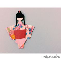 Japanese paper doll kit