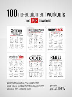 100 No-Equipment Workouts