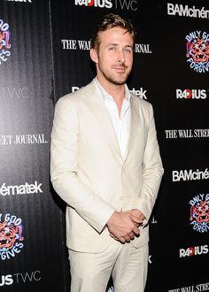Ryan Gosling in Farragamo.