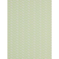 Jane Churchill Retro Leaf Wallpaper, Green, J137W-07 Online at johnlewis.com