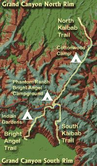 Planning a Grand Canyon Rim to Rim Hike. late september through mid november, or late may through mid june.