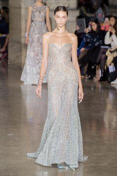 Défilé Georges Hobeika Printemps-été 2017 Haute couture   Le Figaro Madame