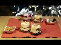 Lebkuchen-TIRAMISU als leckeres Dessert für das Silvester-Buffet: