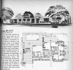 Design B 1177   Flickr - Photo Sharing! 4 Bed, 2.5 Bath, Garage, Pool, Atrium