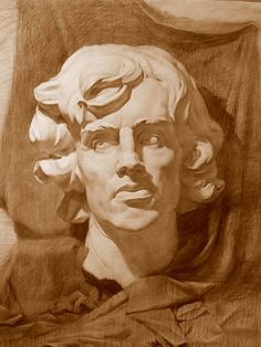 ArtStation - gypsum head, SERGEY LOGINOV