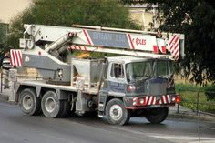 coles mobile cranes - Google Search Crane, Trucks, Google Search, Truck, Cars