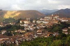 Historic Town of Ouro Preto, Minas Gerais, Brazil
