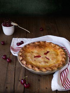 Double Crusted Cherry Pie (Tarta de cerezas estilo americano)