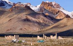 Rhyolite, NV 1 of 22   Named for the local silica-rich volcanic rock, this town…