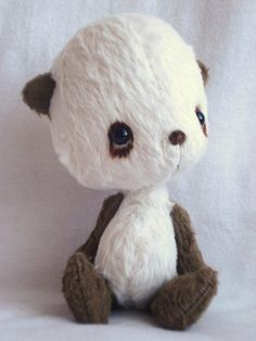 CUTEST THING EVER!!!!  Little panda Order Yours by viviedoudou on Etsy, $150.00