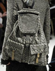 rdaviesman: Chunky Knit Backpack