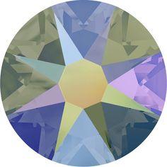 144 Pieces - Swarovski Rhinestone 2088 XIRIUS Rose NO-HOTFIX Flat Back - Crystal Paradise Shine