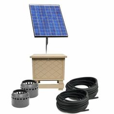 Solar Pond Aeration System with Battery Backup - Up to 2 Acres Solar Pond, Pond Aerator, Pond Filters, Water Quality, Koi, Barn, Converted Barn, Barns, Sheds