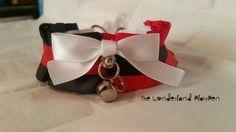 Harley Quinn inspired Pet Play Collar. by TheWonderlandPlaypen *-* Master, pleasssseeee get this for me