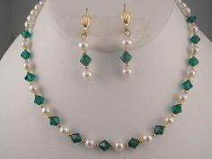 Swarovski Crystal Jewelry Home Page - View Beautiful Designs Swarovski Jewelry, Pearl Jewelry, Crystal Jewelry, Wedding Jewelry, Swarovski Crystals, Silver Jewelry, Crystal Bead Necklace, Irish Jewelry, Engagement Jewelry