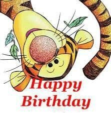 Happy Birthday . Tigger