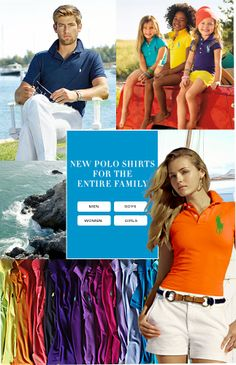 Polo Shirts For The Family, Plus Up To 40% Off