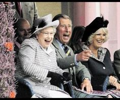 Queen Elisabeth II, Camilla and Prince Charles at their best ^_^
