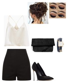 Untitled #21 by danielleguizio45 on Polyvore featuring polyvore, fashion, style, La Perla, Casadei, Topshop, Tory Burch and clothing Concert Outfits, Club Outfits, Teen Fashion Outfits, Summer Outfits, Short Heels, Pajama Party, Passion For Fashion, Casual Chic, Polyvore Fashion