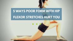 Learn how poor form with hip flexor stretches can actually cause pain - and how to properly perform them to improve your hip flexibility: https://www.precisionmovement.coach/hip-flexor-stretches-poor-form @pmovementcoach