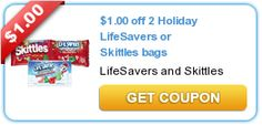 $1.00 off 2 Holiday LifeSavers or Skittles bags
