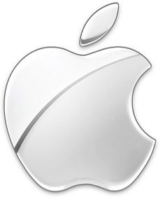 The Monochrome Logo -Glass themed Apple Logo 2003-Present