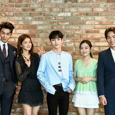 """Casts of the current drama """"Lookout"""" plrase watch it every monday and tuesday."""