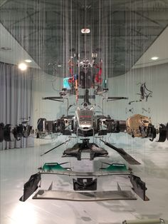 Exploded view Mercedes F1 car