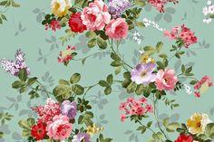 Free Vintage Floral Wallpaper