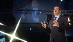 """Cruz: 'Imagine a President Who Stands Unapologetically with Israel' -- JERUSALEM POST)—In speaking to an audience at Liberty University, an evangelical Christian school in Virginia, Texas Senator Ted Cruz received an extended applause for criticism directed at US President Barack Obama's relationship with Israel.  """"Instead of a president who boycotts Prime Minister Netanyahu, imagine a president who stands unapologetically with Israel,"""" Cruz said. [...] 03/24"""