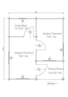 Korondi Árcsó - Balaton 1 Floor Plans, Diagram, Home Architecture, Floor Plan Drawing, House Floor Plans