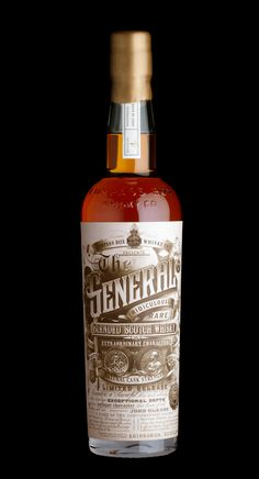 "Compass Box Whiskey Co's ""The General"" Ridiculously Rare Scotch by Stranger & Stranger"