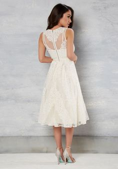 1c79f42bbc Take your unique personal style down the aisle with this ivory dress! A  gorgeous offering
