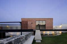 Completed in 2016 in Zapopan, Mexico. Images by César Béjar. Casa G is a family rest house, with a game room and a terrace to host the owner's social activities, located in the northwest area of Zapopan, on a. Cantilever Architecture, Modern Architecture House, Residential Architecture, Architecture Details, Interior Architecture, Interior Design, Container Home Designs, Real Estate Prices, Rest House