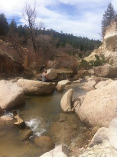Castlewood Canyon Park in Franktown, CO