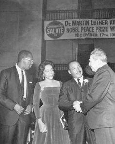 At the age of thirty-five, Martin Luther King, Jr., was the youngest man to have received the Nobel Peace Prize, in 1964. When notified of his selection, he announced that he would turn over the prize money of $54,123 to the furtherance of the civil rights movement.