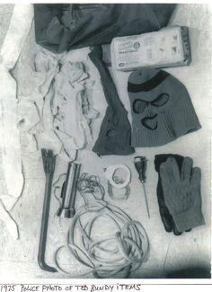 Ted bundy. Rape kit
