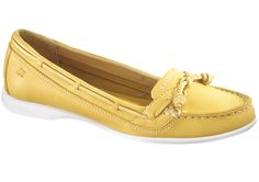 Sebago Felucca Lace in Yellow. Sailing Shoes, Boat Shoes, Material Girls, Kate Middleton, Moccasins, Loafers Men, Oxford Shoes, High Heels, Dress Shoes