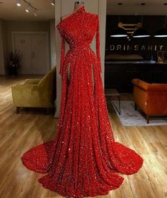 Online Shop Arabic Muslim Formal Evening Dresses Long Mermaid One Shoulder Prom Dress 2019 Dubai Couture Kaftan Vestidos De Fiesta De Noche Evening Dress Long, Formal Evening Dresses, Elegant Dresses, Pretty Dresses, Sexy Dresses, Evening Gowns, Summer Dresses, Sparkly Dresses, Backless Dresses
