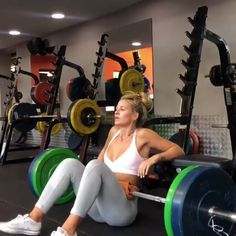 Megan ( works the glutes with Hip Thrusters. Megan ( works the glutes with Hip Thrusters. If you want to try out… Megan ( works the glutes with Hip Thrusters. If you want to try out her full workout, click through to Fitness Workouts, Sport Fitness, Body Fitness, Fun Workouts, At Home Workouts, Male Workouts, Gym Fitness, Dance Fitness, Workout Routines