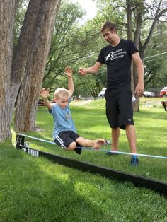 SLACKLINING TIPS FOR BOTH KIDS AND BEGINNERS