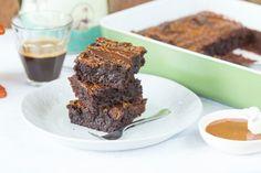 Karamellás brownie Izu, Chili, Sweet, Kitchen, Food, Inspiration, Caramel, Candy, Biblical Inspiration