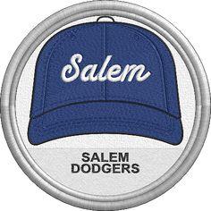 Salem Dodgers - baseball cap hat - sports logo - uniform - Northwest League - Minor League Baseball - MiLB - Created by Jackson Cage