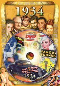 1934 Flickback DVD And Greeting Card Great Gift Idea For An 80 Year Old