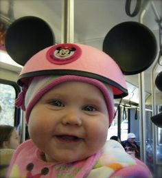 February 2009 - Allison's first trip to Walt Disney World