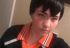 I love me some Kags  And maybe there'll be some Makoto later today  #kageyama #kageyamatobio #kageyamacosplay #kageyamatobiocosplay #karasuno #karasunocrows #karasunodorks #karasunocosplay #haikyuu #hqcosplay #haikyuucosplay #prettysettersquad #cosplaymakeup #cosplayer #cosplay #otakon2016 #gay #gaysportsanime #gayvolleyballboys #gayvolleyballanime #gayvolleyballdorks #anime #manga